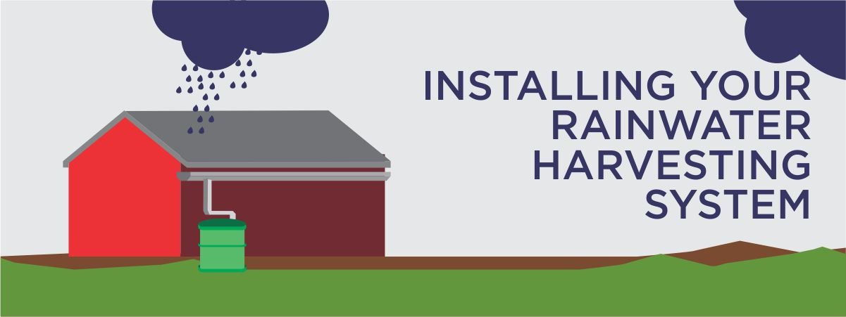 Installing your Rainwater Harvesting Tank