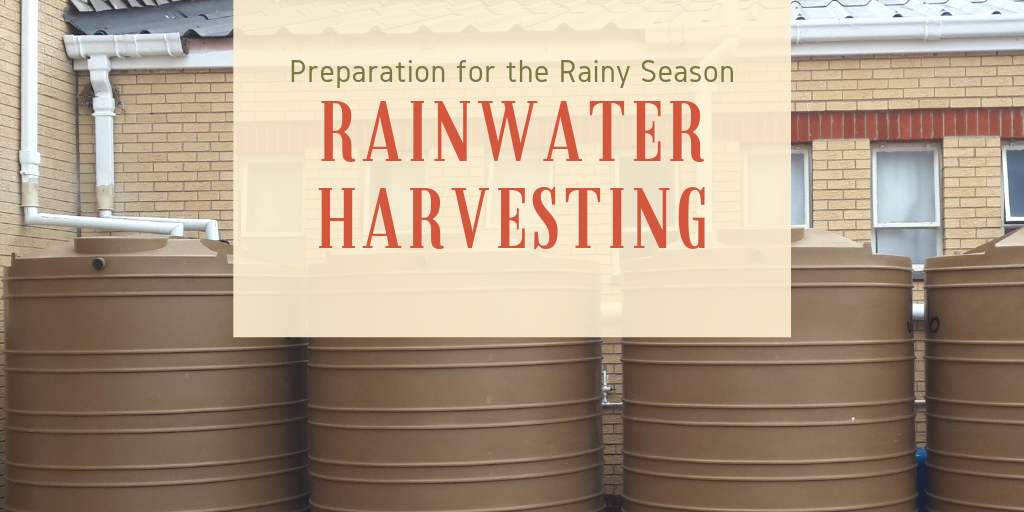 Rainwater Harvesting: Preparation for the Rainy Season